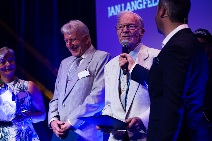 Jan Langfeldt og Per Wolff mottok Distinguished alumni awards